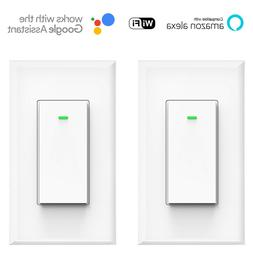 Smart Light Switch, Compatible with Alexa and Google Home, N