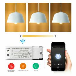 Smart Light Switch Controller Home Automation Voice Control