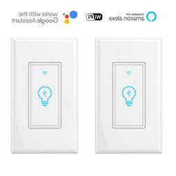 Smart switch, compatible with Amazon Alexa and Google Home I