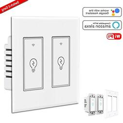 Smart Light Switch, Gosund 15A Smart Wifi Light Switch with