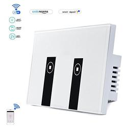 BENLINK Smart Light Switches Touch Remote Timing Function wi