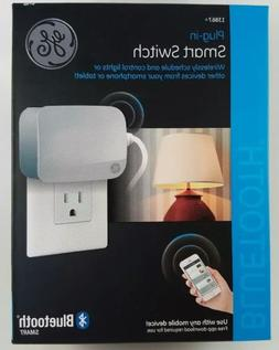 GE Smart Switch Light Control Bluetooth Plug In #13867 White