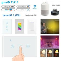 smart touch wi fi wall led dimmer