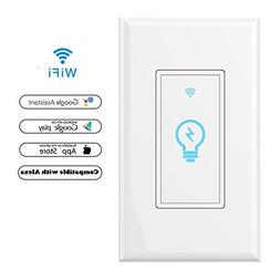 Smart Wi-Fi Light Switch In-Wall, Phone Remote Control Wirel