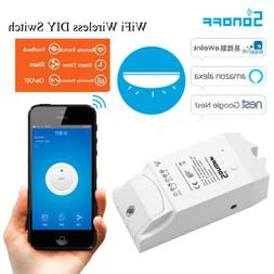 SONOFF Smart WiFi Light Switch Energy Monitoring APP for Ama