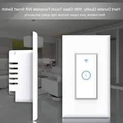 Smart WiFi Light Switch in Wall Compatible With Amazon Alexa