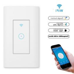 Smart WiFi Light Switch in Wall WiFi APP Control Work For Al
