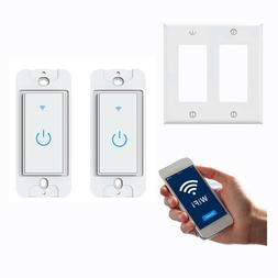 smart wifi light switch work with alexa