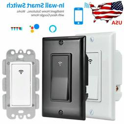 Smart WIFI Light Wall Switch Remote Control Smart Life Alexa