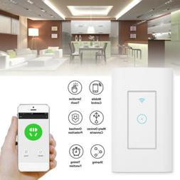 Smart WIFI Light Wall Switch Works For Alexa Google Home IFT