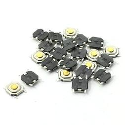 22pcs 4x4x1.5mm SMT SMD Momentary Tact Tactile Push Button S