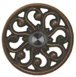 Waterwood Brass Veda Doorbell in Oil Rubbed Bronze