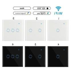 Sonoff Touch Smart WIFI APP Wall Light Glass Panel Timing Sw