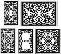 SWIRL BLACK AND WHITE # 3 LIGHT SWITCH COVER PLATE   U PICK