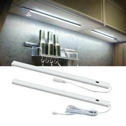 Switch LED Under Cabinet Kitchen Bar Light Bedroom Wardrobe