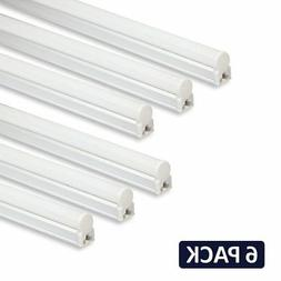 Barrina LED T5 Integrated Single Fixture, 4FT, 2200lm, 6500