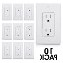 Maxxima Tamper Resistant Duplex Outlet Receptacle 15A Wall P