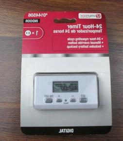 UTILITECH Digital Timer ~ Model #0144506 ~ Indoor 24 Hour Re