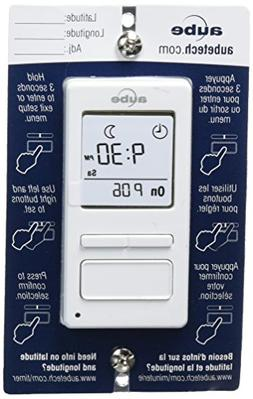 Aube Electronic Timer Switch With Sunrise/Sunset Single or 3