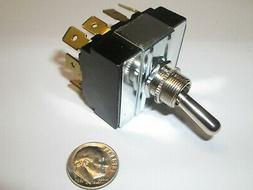 toggle switch 4pdt on on 1 4