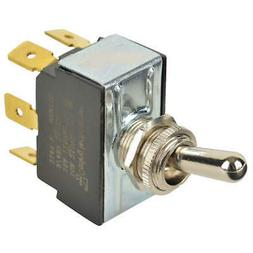 CARLING TECHNOLOGIES Toggle Switch,DPDT,10A @ 250V,QuikConnc