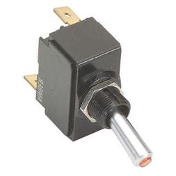 CARLING TECHNOLOGIES LT-1561-601-012 Toggle Switch,SPDT,20A