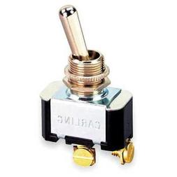 Toggle Switch,SPST,10A @ 250V,Screw CARLING TECHNOLOGIES 2FA