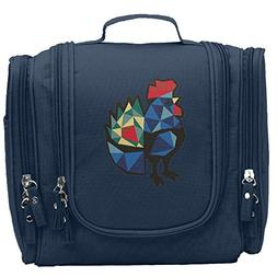 Travel Toiletry Bags Polish Folk Chicken Rooster Washable Ba