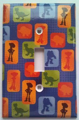 Toy Story Light Switch Cover Bathroom Bedroom Kitchen Wall D