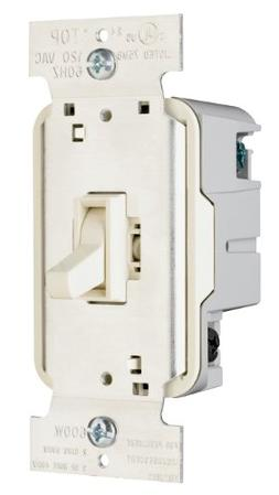 Legrand TradeMaster 600W Three Way Toggle Dimmer with Housin