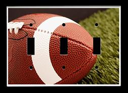 Triple Toggle  Light Switch Plate Cover - Sports Recreation
