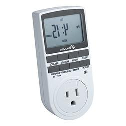 Enover TS18 15A/1800W 7-day Programmable Plug-in Digital Tim