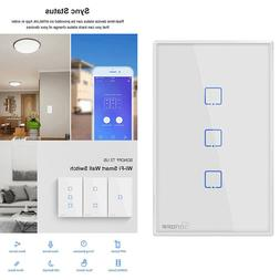 Sonoff TX T2 US 1/2/3 Gang Smart Touch Light Switch eWelink