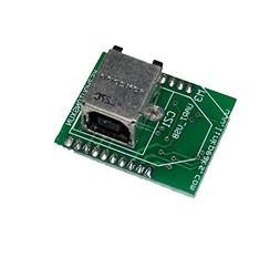 UART to USB Interface Card  with Xbee form factor