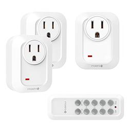 Etekcity Upgraded Version Remote Control Outlet Wireless Lig