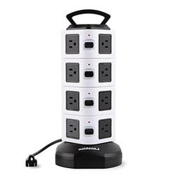 Vertical Power Strip, Lanshion Smart 16-Outlet Desktop Surge