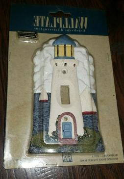 Vintage 1994 Figi Lighthouse Light Switch Cover Plate NEW De