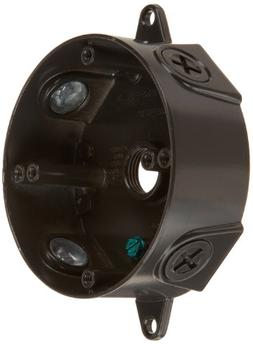 RAB Lighting VXCA Weatherproof Round Box with No Cover, Alum