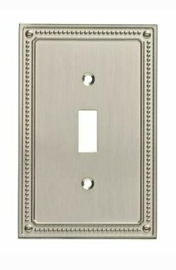 Franklin Brass W35058-SN-C Classic Beaded Single Switch Wall