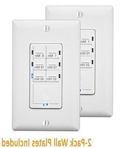 Enerlites In Wall Timer Switch, Fan Switch Timer, Countdown