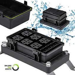 online led store waterproof relay/fuse block for automotive