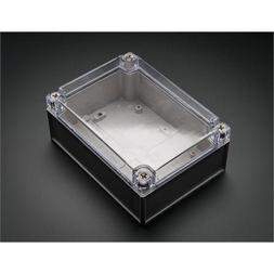 Large Weatherproof Enclosure With Clear Top
