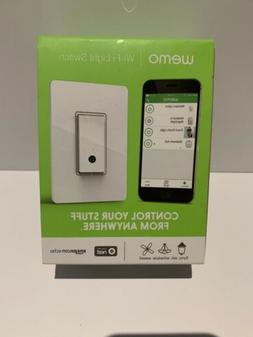 Belkin WeMo Light Switch Smart Home WiFi Enabled Android/iPh