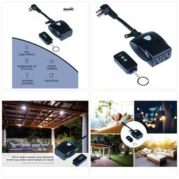 more photos 61aef 60dfd WESTEK Outdoor Remote Control Outlet Swi...