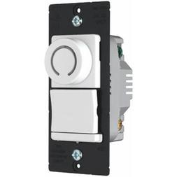 Pass & Seymour #DR703PWV 700W White 3WY Rotating Dimmer