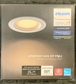 Philips Hue White Ambiance Dimmable LED Smart Retrofit Reces