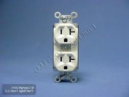 Pass & Seymour White PLUGTAIL Receptacle Duplex Outlet NEMA
