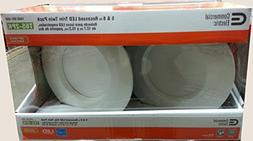 Commercial Electric 5 in. and 6 in. 2700K White Recessed LED