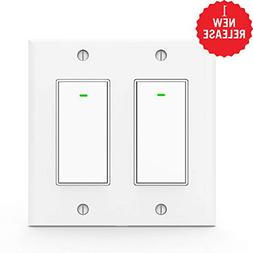 Wifi Light Switches,Smart Switch, Alexa Switch Compatible wi