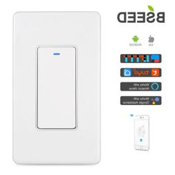Bseed WIFI Smart Switch Wall Light Remote Switch For Amazon